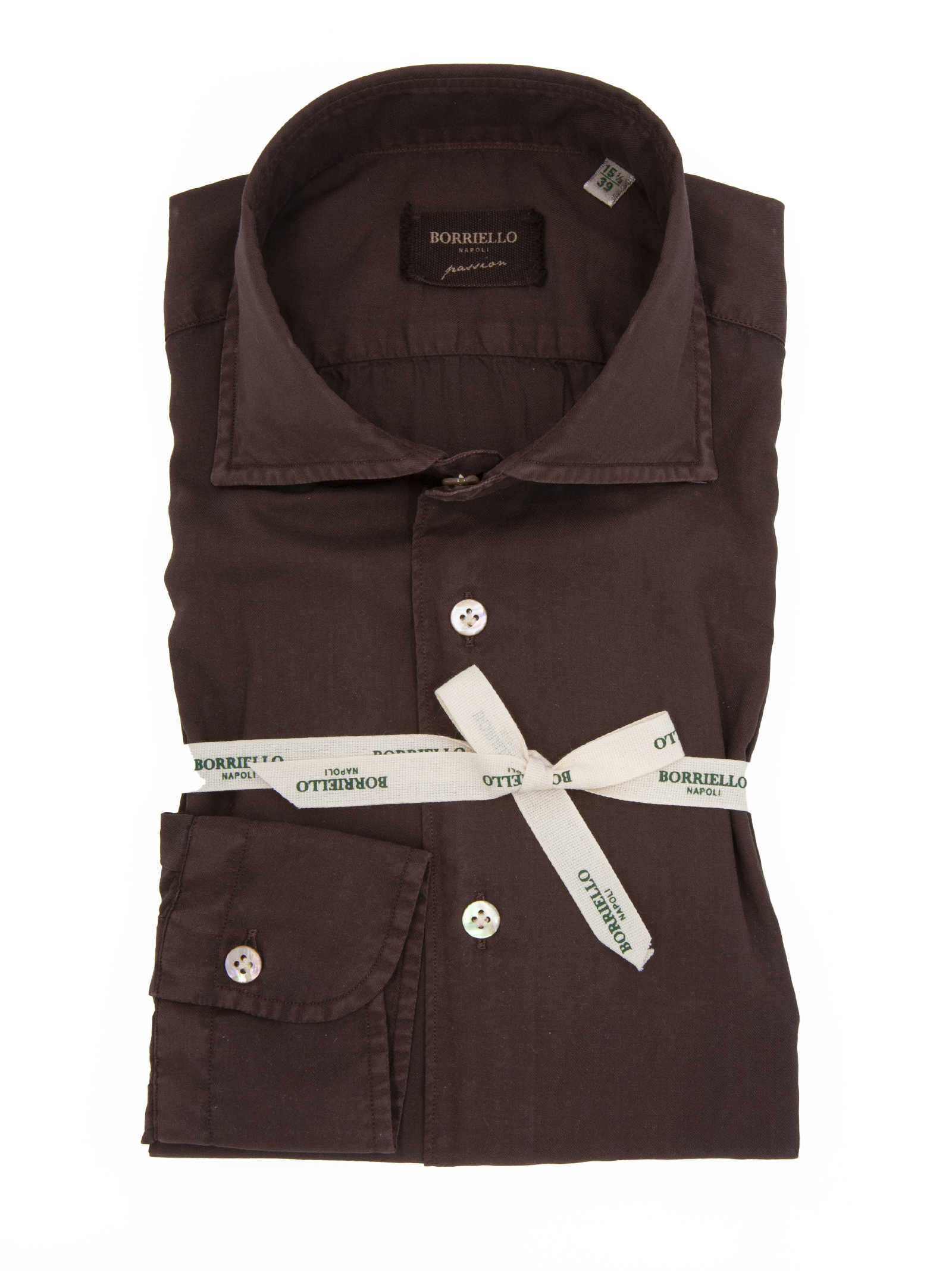 Camicia Borriello BORRIELLO | 6 | 9316BROWN