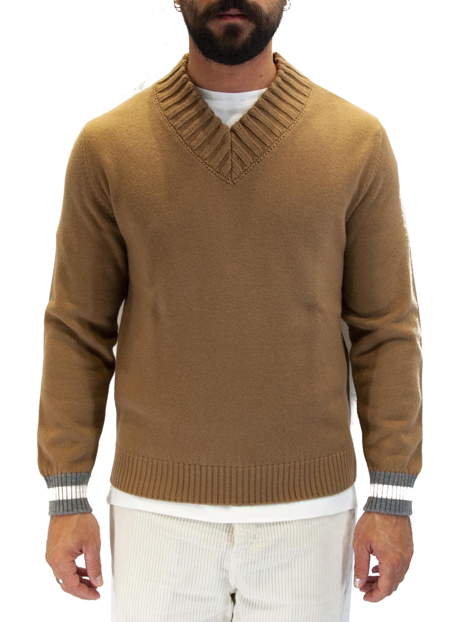 Pullover collo V Eleventy | 10000004 | B76MAGB1404-14