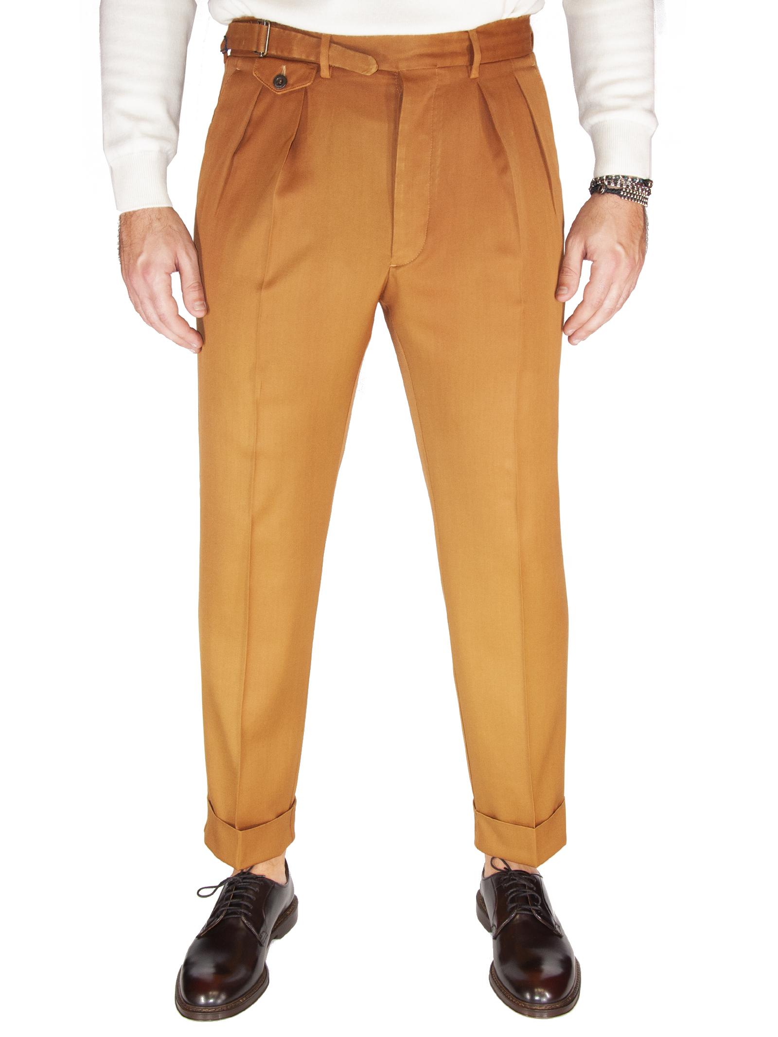 Pantalone lana lavata LARDINI | 9 | LUXOR5LW 55076410L