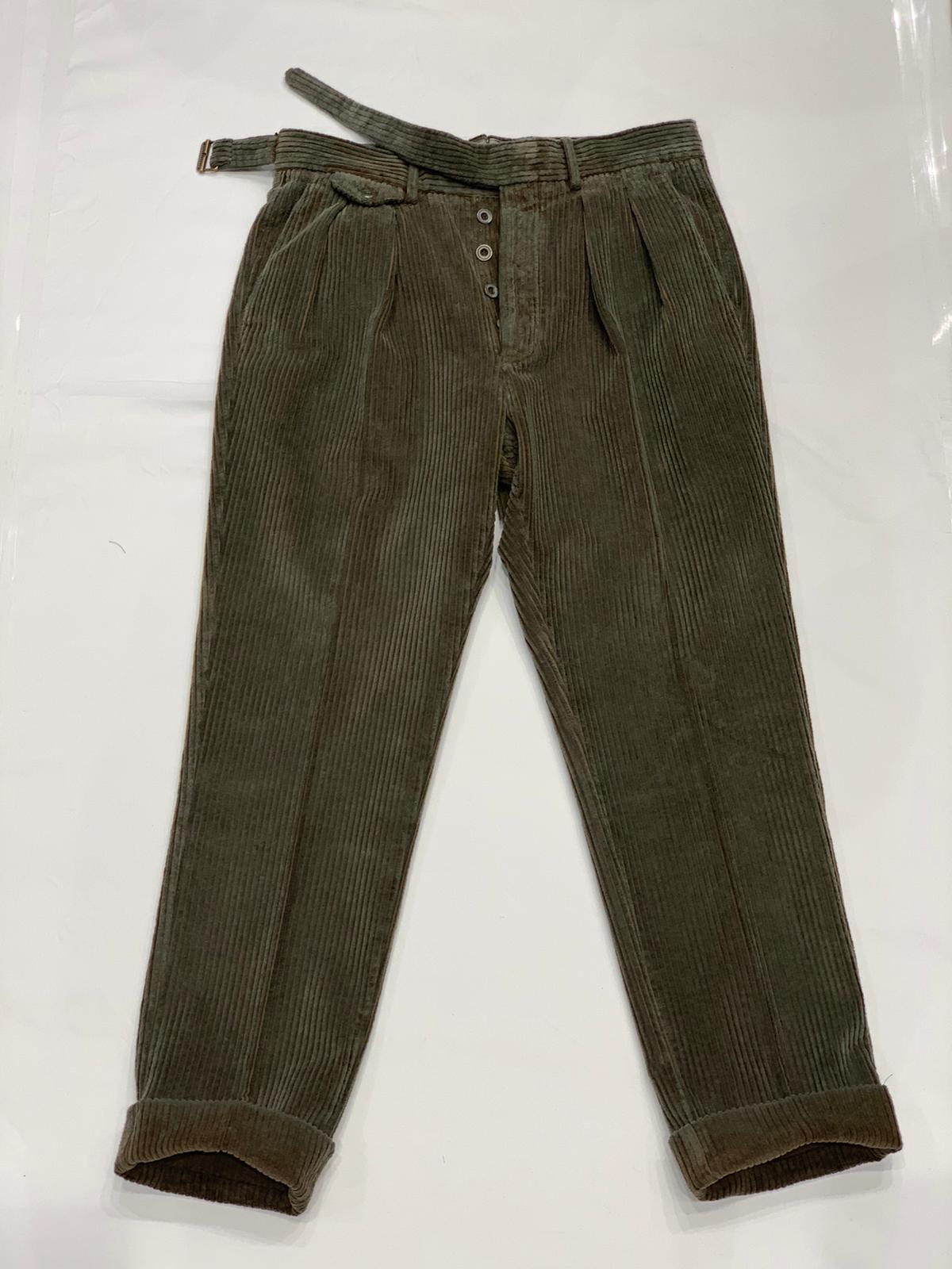 Pantalone Velluto LARDINI   9   LUXOR5W 55078820