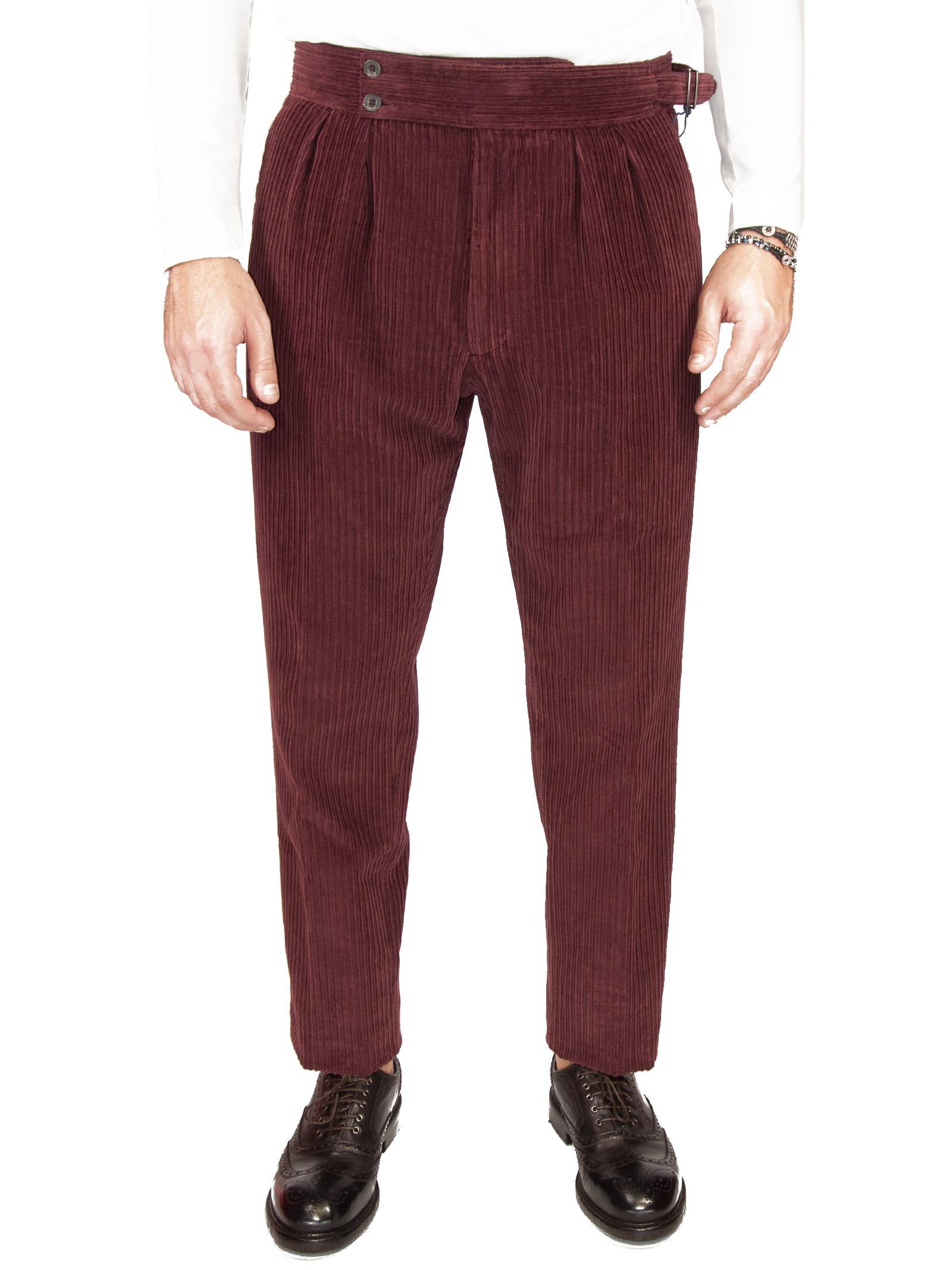 Pantalone velluto LARDINI | 9 | SEUL5 55075650