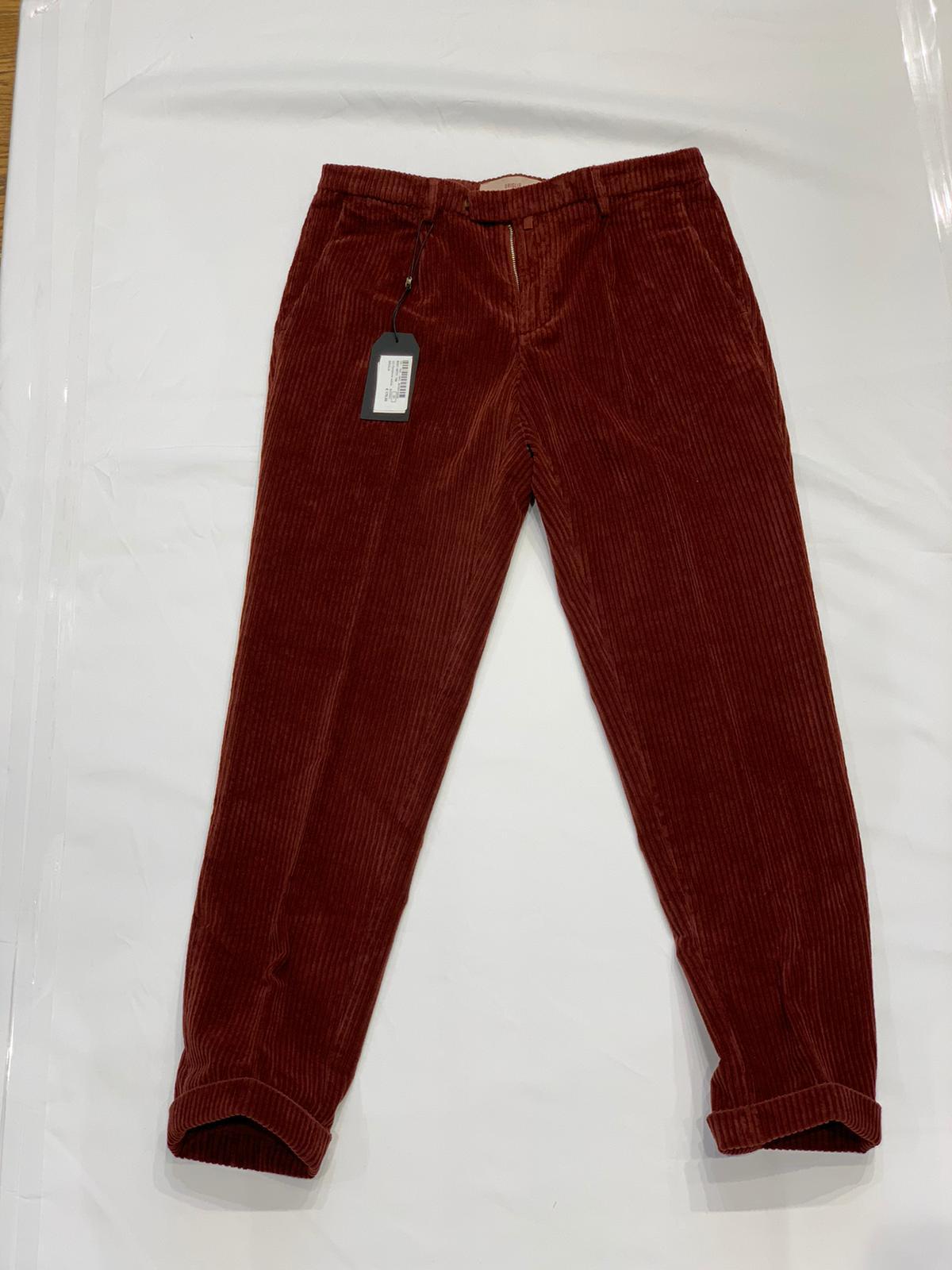 Pantalone velluto BRIGLIA | 10000010 | BG21 49721748