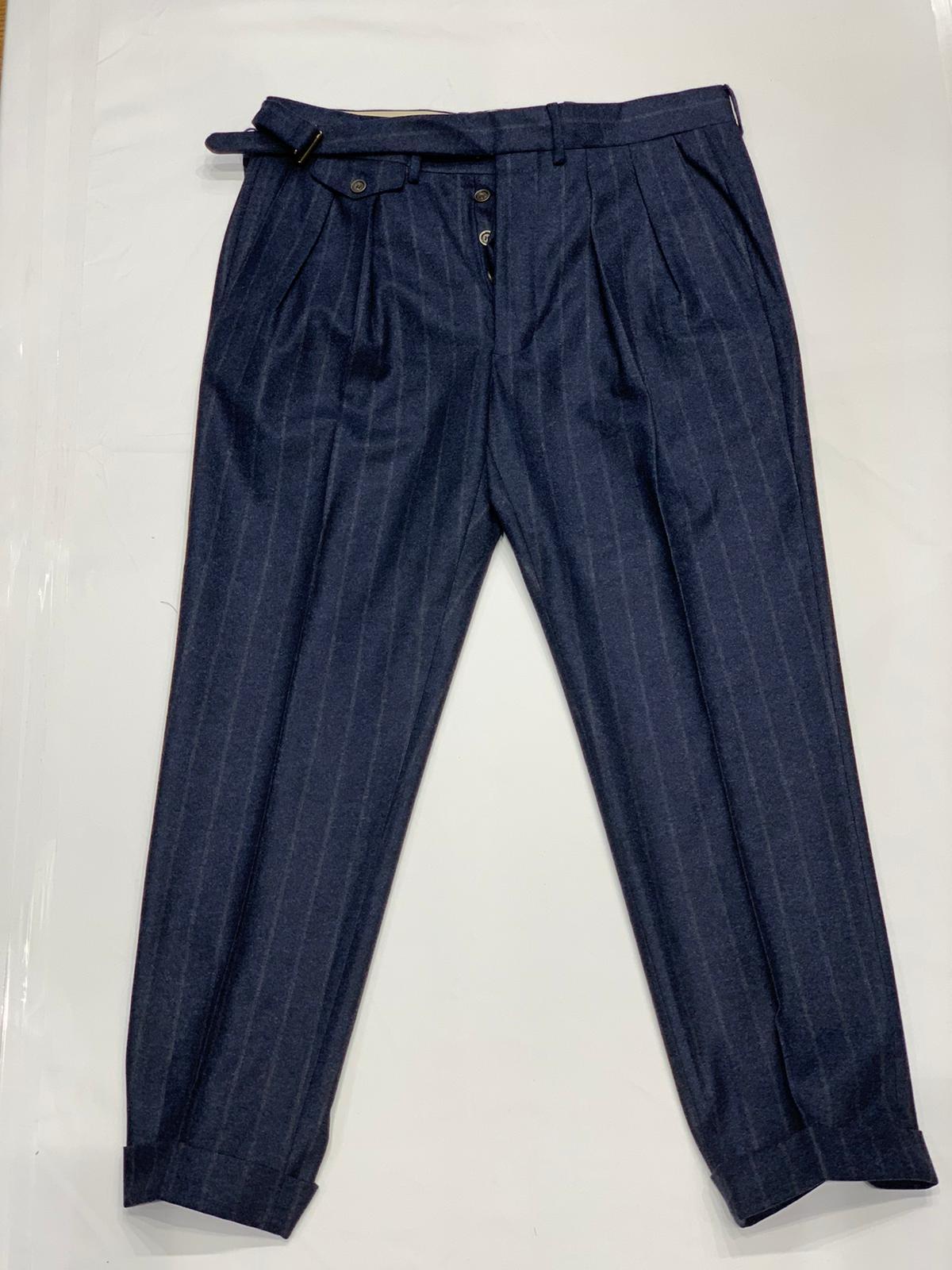 Pantalone gessato LARDINI | 9 | LUXOR3 IL53073830