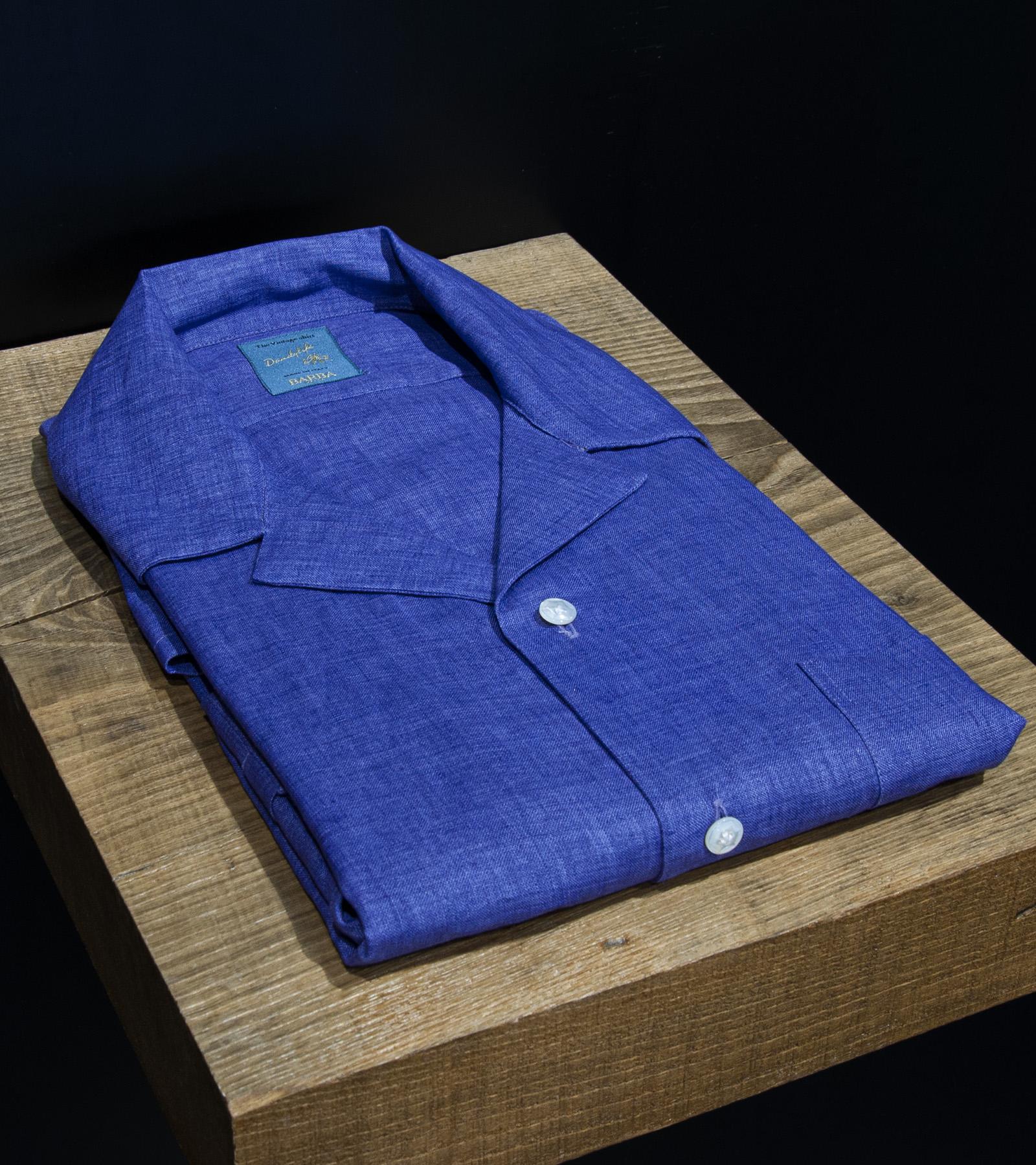 Camicia lino BARBA DANDY   6   PB6641406