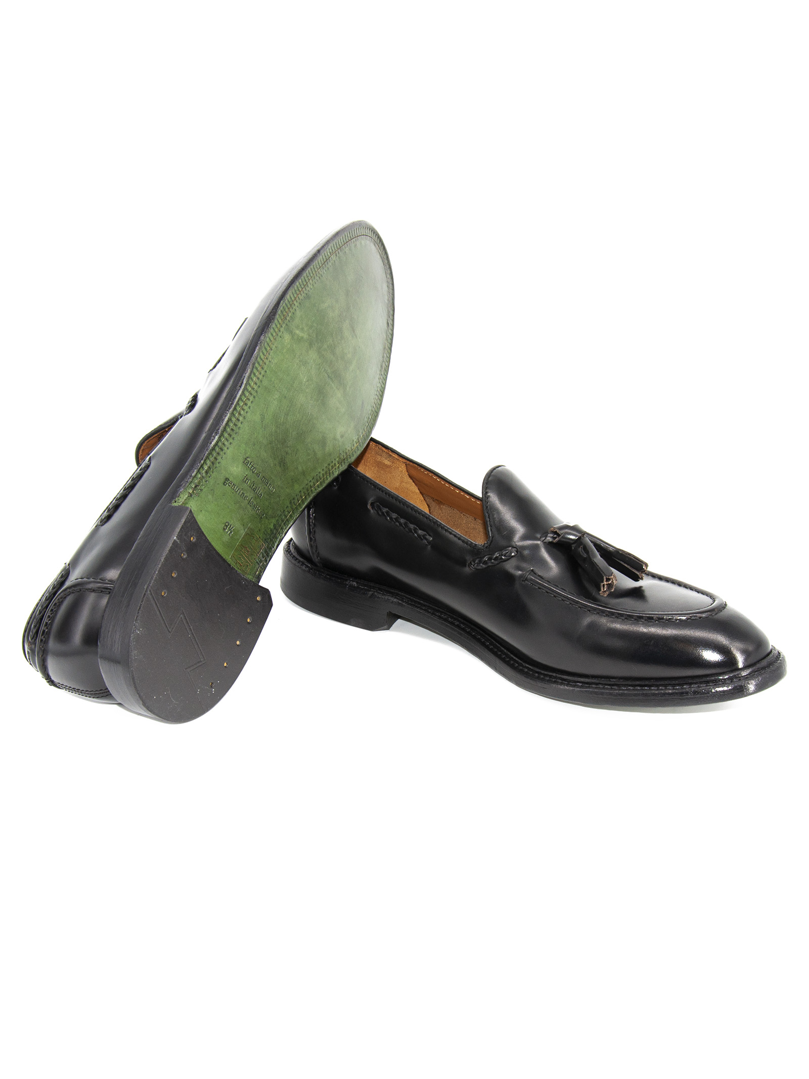 tassel Green George | 921336138 | 2032 POLISHEDNERO