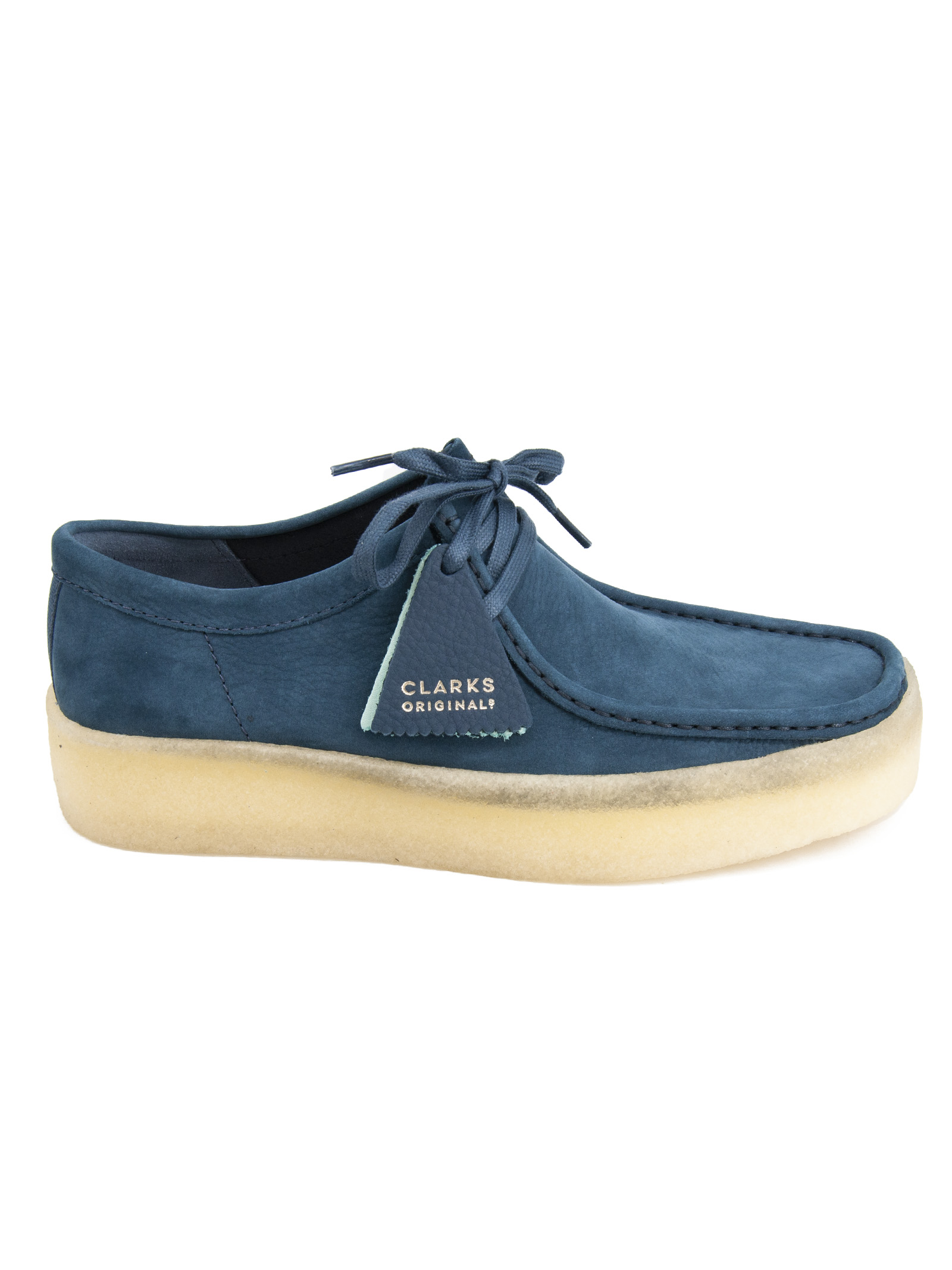 CLARKS | 20000003 | WALLABEE CUPBLUE