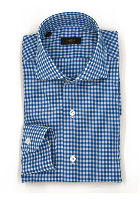 Camicia quadretto BARBA CULTO | 6 | K1U13 PZ5628A