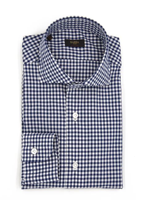 Camicia Quadretto BARBA | 6 | K1U13 PZ56291