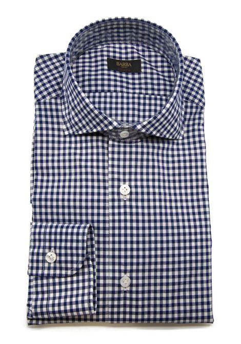 Camicia Quadretto BARBA | 6 | K1U13 PZ56291