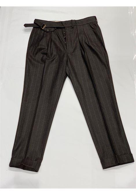 Pantalone Gessato LARDINI | 10000010 | LUXOR3 IL53073450