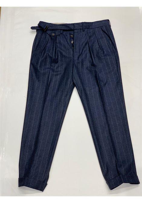 Pantalone gessato LARDINI | 10000010 | LUXOR3 IL53073830