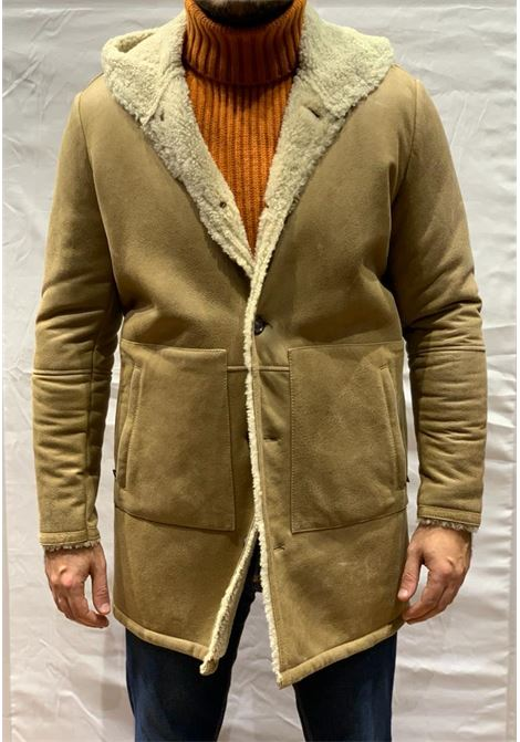 Cappotto cappuccio VOLFAGLI | 10000011 | VERDONE MALAGA1