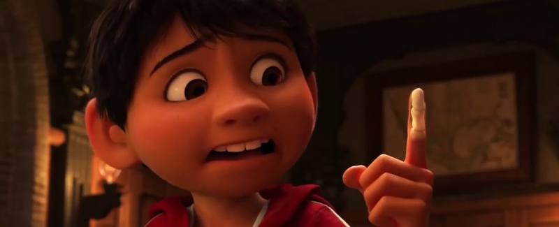 Miguels impending doom in Coco