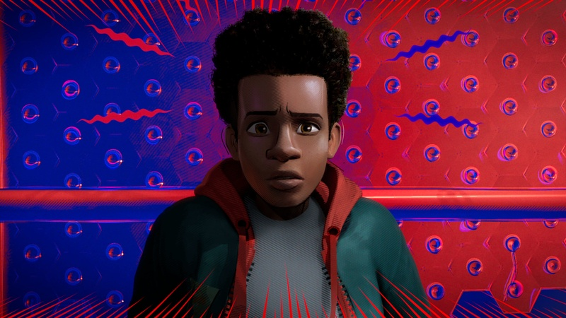 Miles Morales in *Spider-Man: Into the Spider-Verse