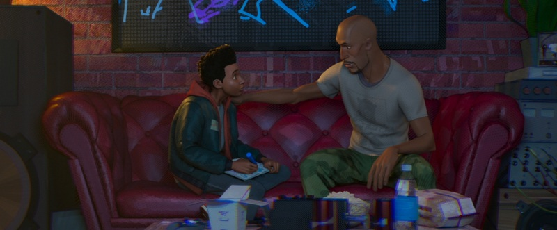 Uncle Aaron in *Spider-Man: Into the Spider-Verse*