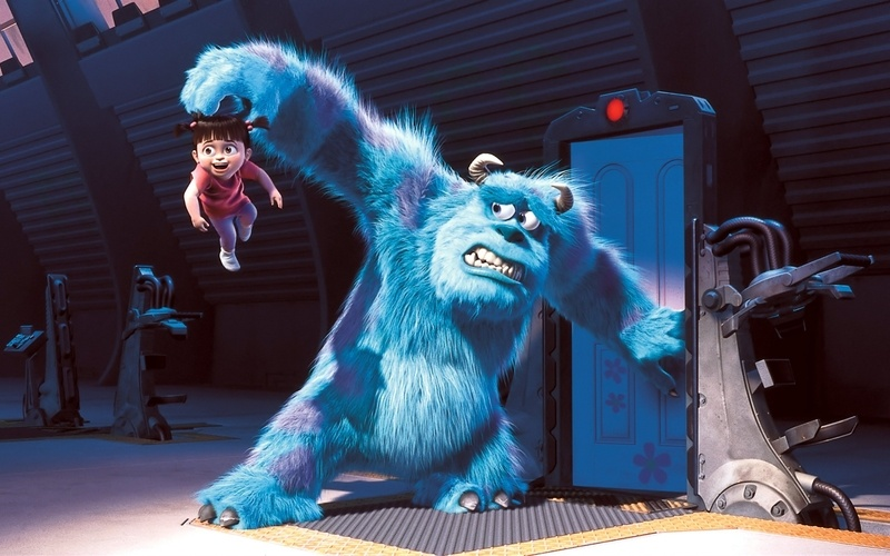 Sully and his monster, Boo