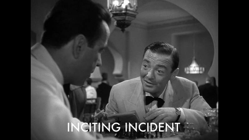 *Casablanca* Inciting Incident