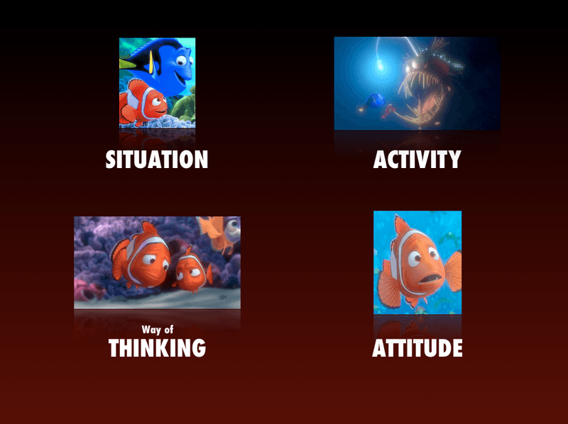 The Structure of Finding Nemo