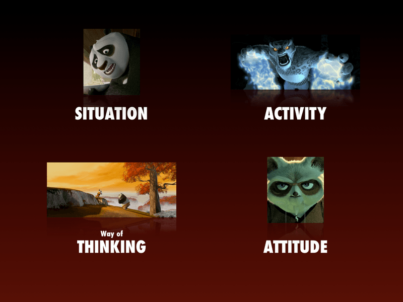 The Structure of Kung Fu Panda