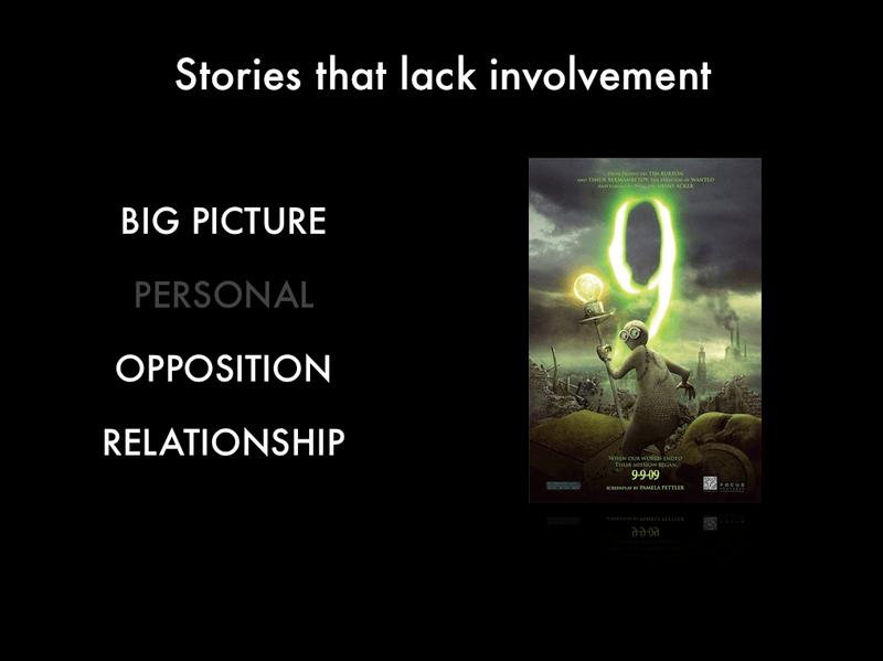 Stories That Lack Involvement