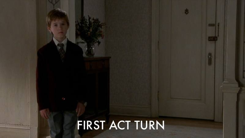 *The Sixth Sense* First Act Turn