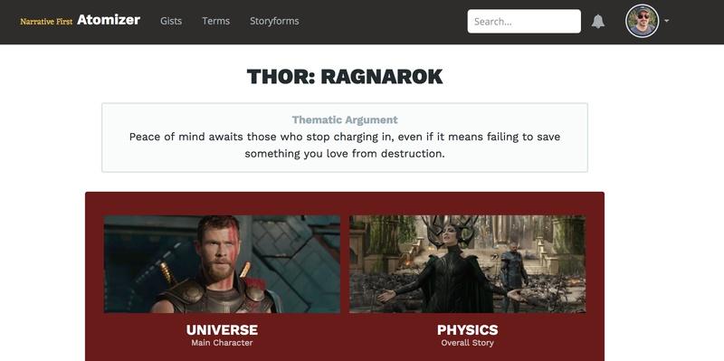 The Thematic Argument of *Thor: Ragnarök*