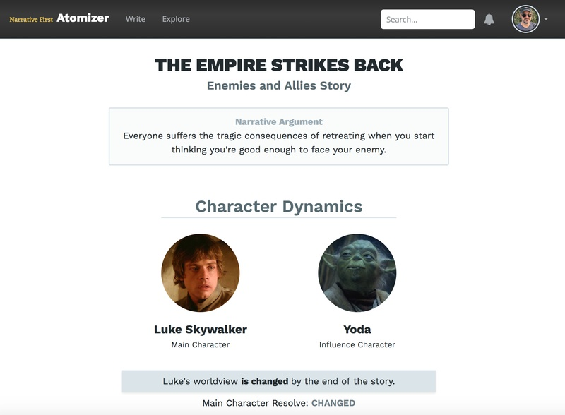 The first storyform for _The Empire Strikes Back_