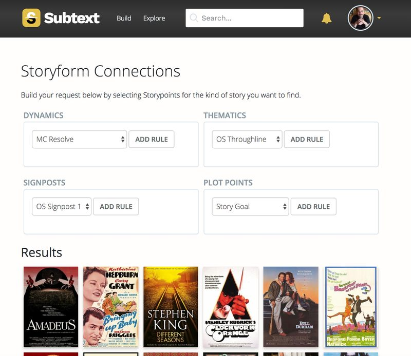 Make Storyform Connections Beautiful