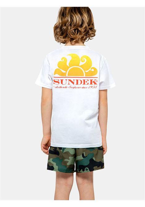 NEW HERBERT SUNDEK | T-SHIRT | B028TEJ7800006