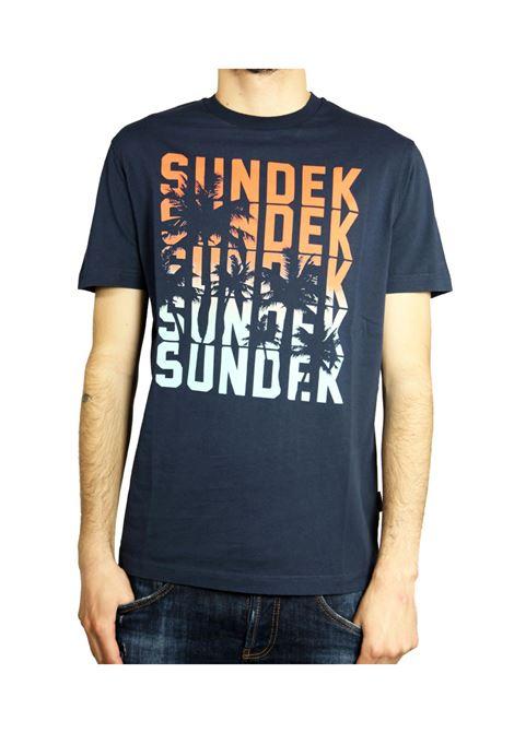 SUNDEK | T-SHIRT | M755TEJ78PY007