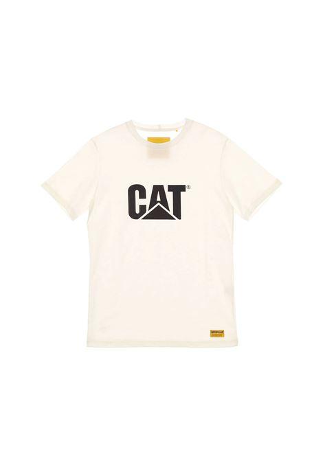 CAT SHIRT CATERPILLAR | T-SHIRT | 2511243CREAM