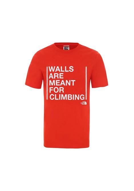 WALLS CLIMB THE NORTH FACE | T-SHIRT | NF0A3S3S15Q