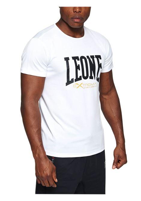 LEONE SPORT   T-SHIRT   ABX106BIANCO