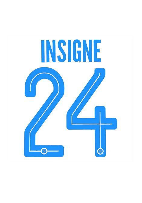 24 INSIGNE NOME E NUMERO KAPPA | ACCESSORI | 24 INSIGNEAZZURRO