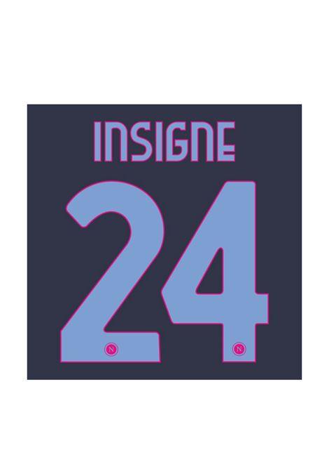 24 INSIGNE NOME E NUMERO KAPPA | ACCESSORI | 24 INSIGNECELESTE