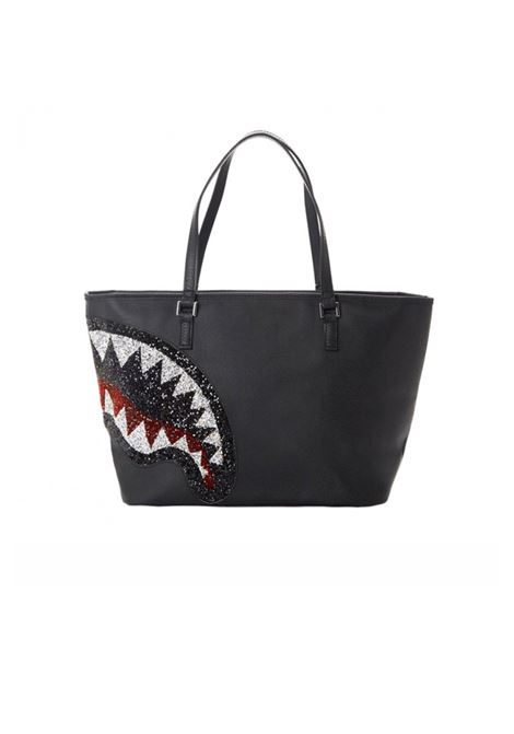 TRINITY 2.0 SHARK BLACK TOTE SPRAYGROUND | BORSE | 910T3668NSZ-