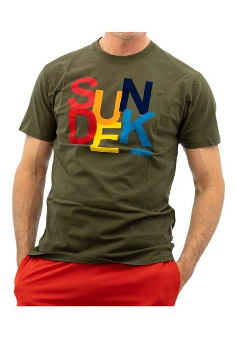 SUNDEK | T-SHIRT | M075TEJ7800302