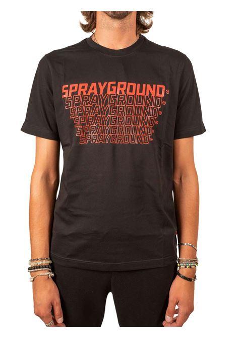 SPACE SPRAYGROUND TEE SPRAYGROUND | T-SHIRT | SP117BLK