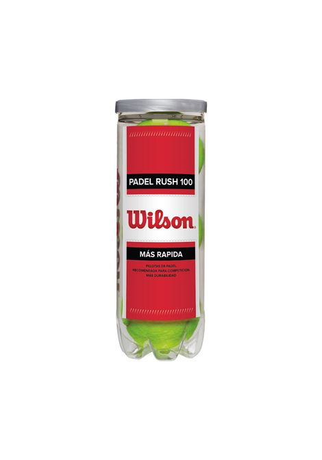 PADEL RUSH 100 3BALL WILSON | PALLE/PALLONI/PALLINE | WRT136500-