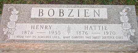 BOBZIEN, HENRY - Adams County, Nebraska | HENRY BOBZIEN - Nebraska Gravestone Photos