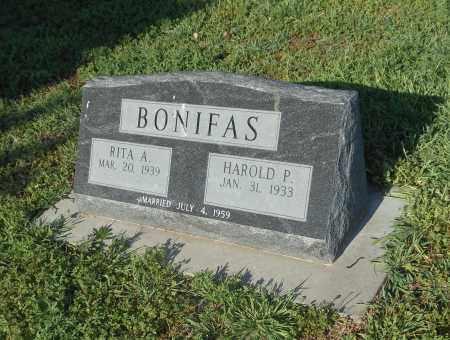 BONIFAS, HAROLD P. - Adams County, Nebraska | HAROLD P. BONIFAS - Nebraska Gravestone Photos