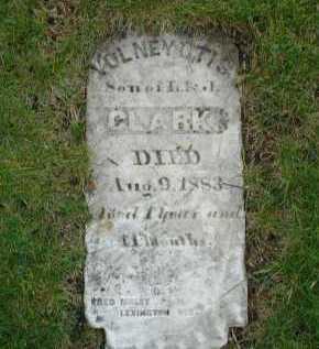 CLARK, VOLNEY OTIS - Adams County, Nebraska | VOLNEY OTIS CLARK - Nebraska Gravestone Photos