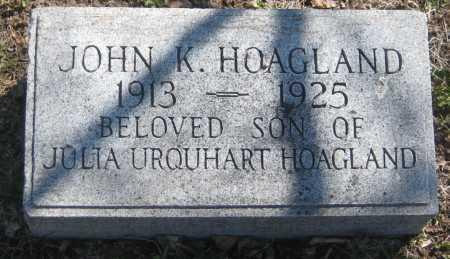 HOAGLAND, JOHN K. - Adams County, Nebraska | JOHN K. HOAGLAND - Nebraska Gravestone Photos