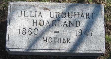 URQUHART HOAGLAND, JULIA - Adams County, Nebraska | JULIA URQUHART HOAGLAND - Nebraska Gravestone Photos