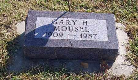 MOUSEL, GARHARDT HENRY - Adams County, Nebraska   GARHARDT HENRY MOUSEL - Nebraska Gravestone Photos