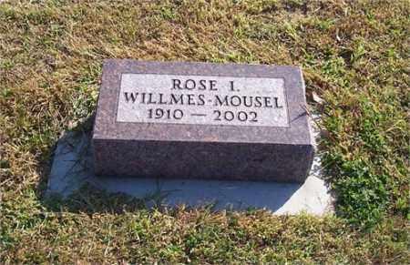 MOUSEL, ROSE IRENE - Adams County, Nebraska | ROSE IRENE MOUSEL - Nebraska Gravestone Photos