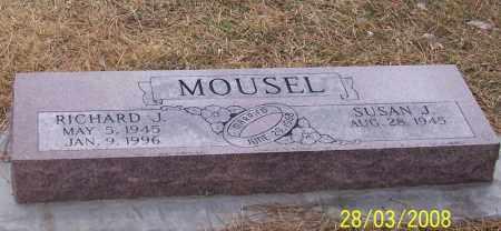 MOUSEL, RICHARD & SUSAN - Adams County, Nebraska | RICHARD & SUSAN MOUSEL - Nebraska Gravestone Photos