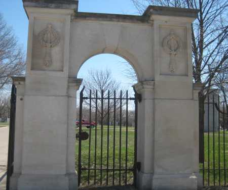 *PARKVIEW CEMETERY, GATE - Adams County, Nebraska   GATE *PARKVIEW CEMETERY - Nebraska Gravestone Photos