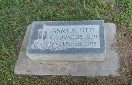 PITTZ, ANNA M - Adams County, Nebraska   ANNA M PITTZ - Nebraska Gravestone Photos
