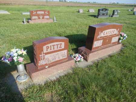 PITTZ, ELIZABETH S - Adams County, Nebraska   ELIZABETH S PITTZ - Nebraska Gravestone Photos